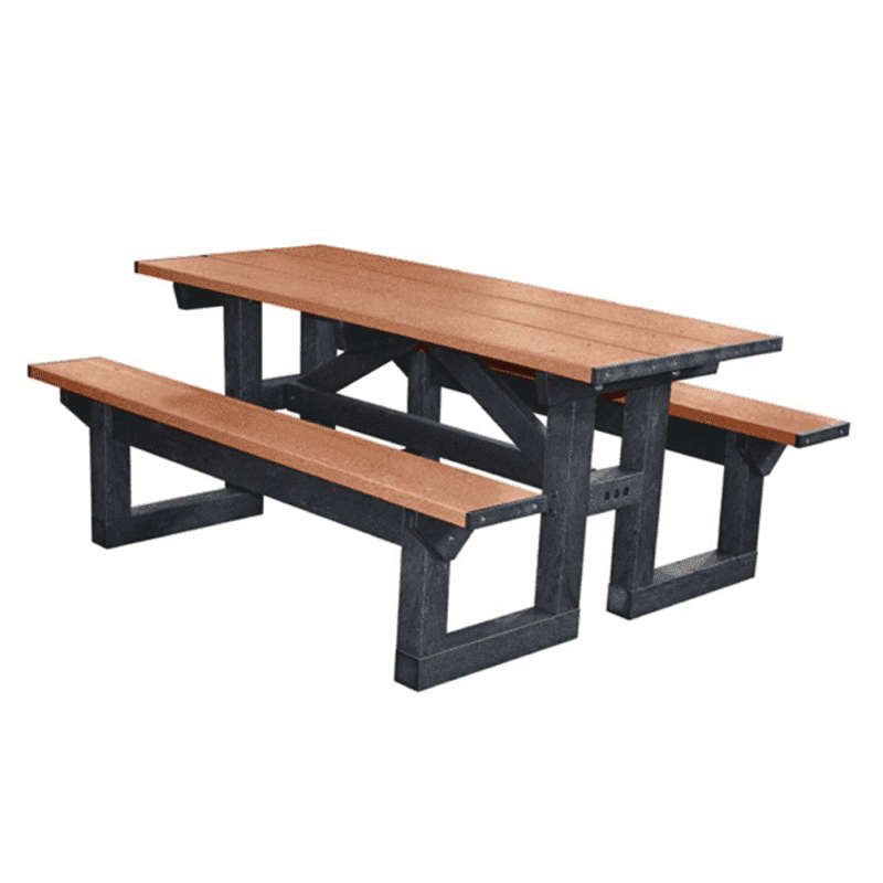 6′ Box Table Picnic Table