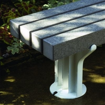 Detail View Of End Of Balance Bench