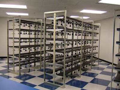 Storage System For Ice Skates