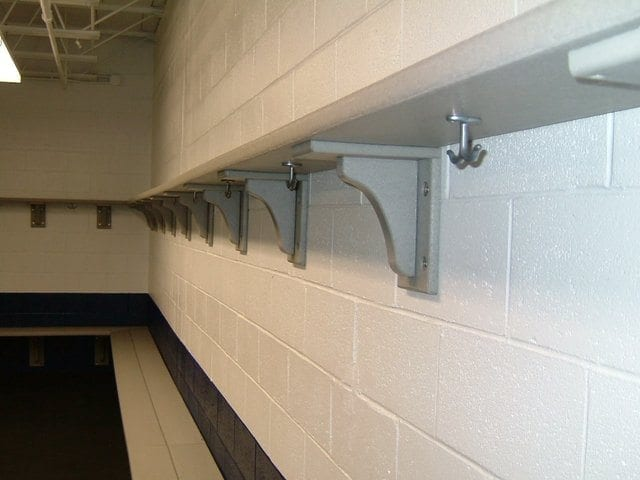 Recycled Plastic Wall Mounted Shelving