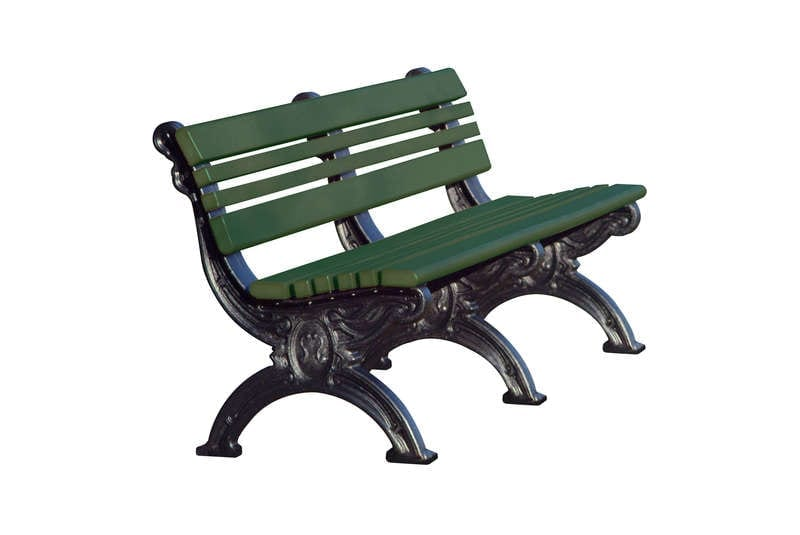 6 Foot Cambridge Bench Made With Recycled Plastic Materials