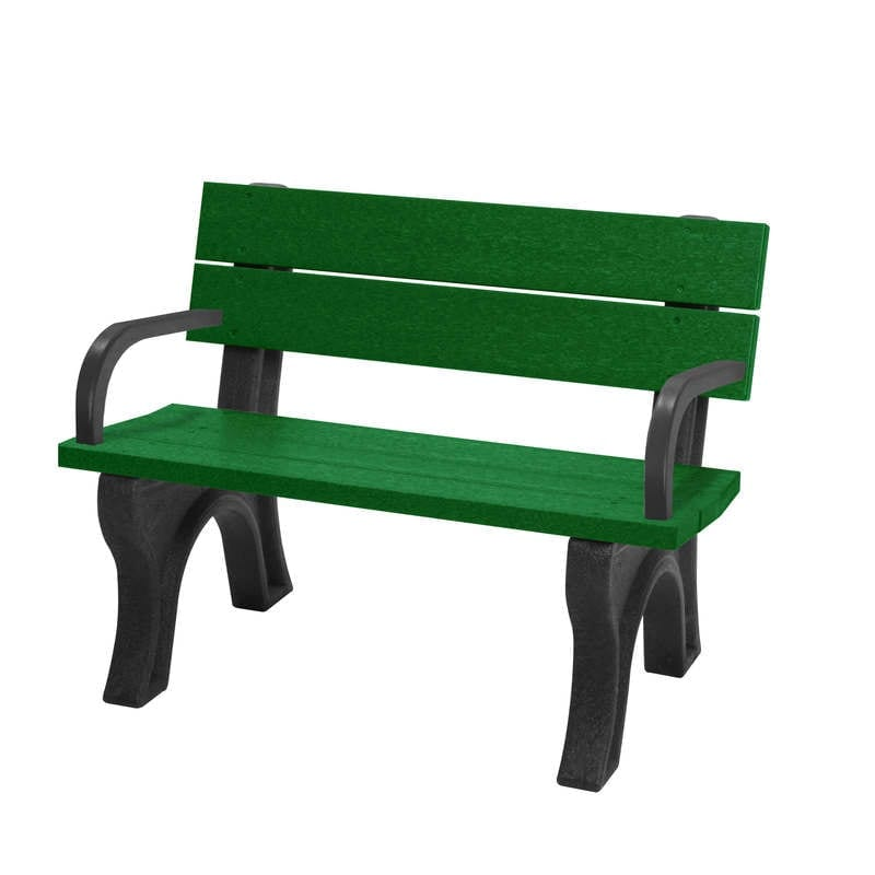 4 Foot Standard Bench With Arms