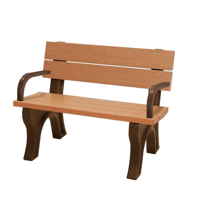 SPB400WA 4′ Standard Park Bench With Arms