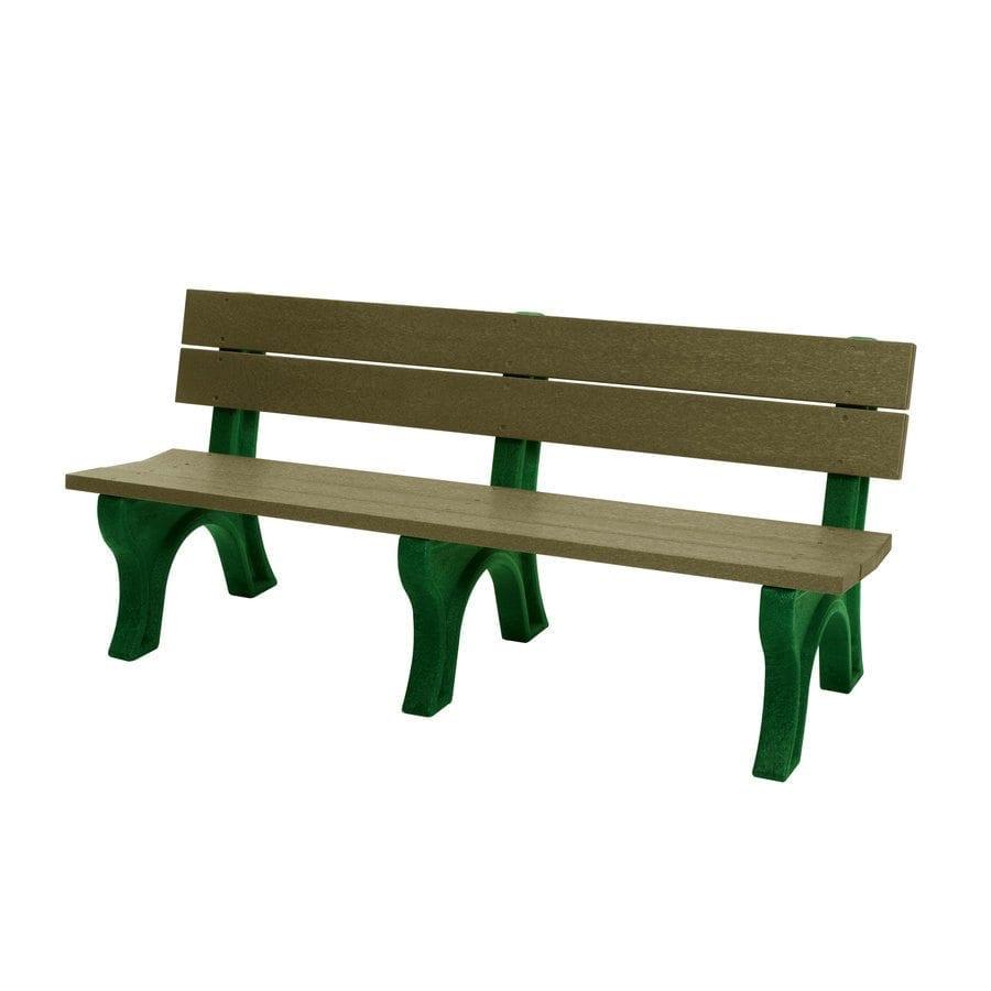 SPB600 6′ Standard Park Bench