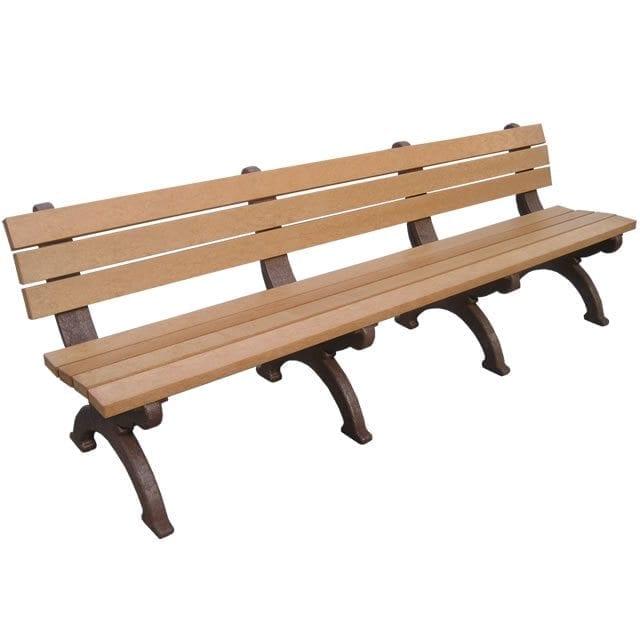MQB800 8′ Monarque Park Bench