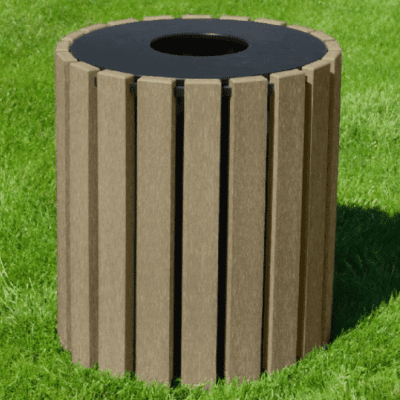 33 Gallon Trash Receptacle