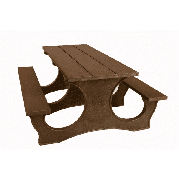 6′ Easy Access Picnic Table