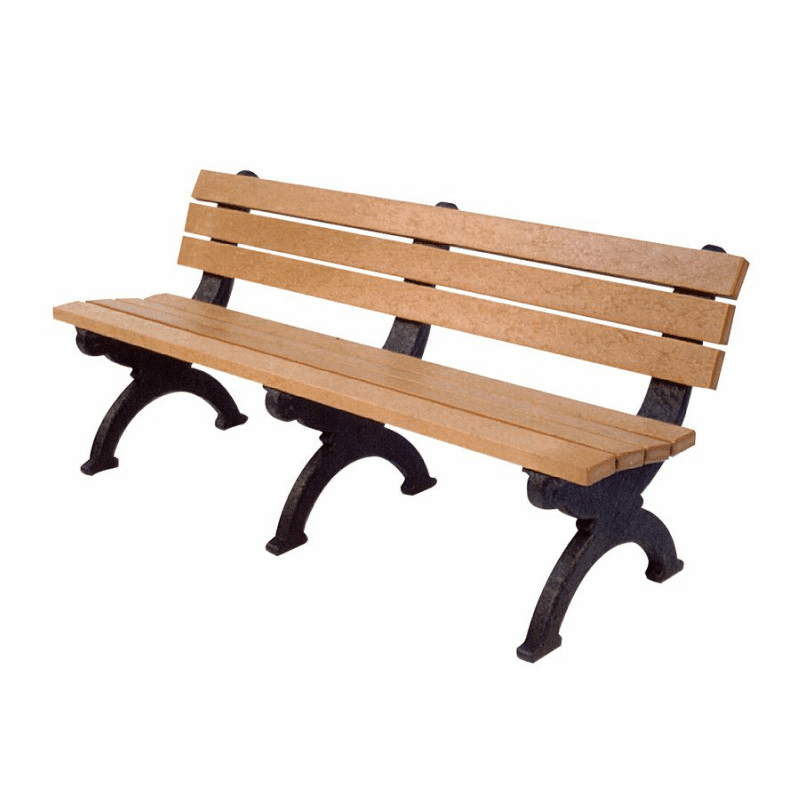 6 Foot Monarque Bench Made From Recycled Plastic Materials