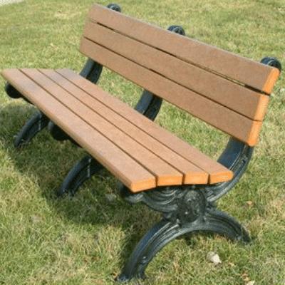 SB6B 6′ Silhouette Park Bench