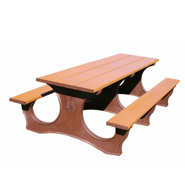 8′ Easy Access Picnic Table