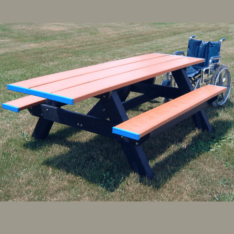 ADA Accessible (Both Ends) Standard Picnic Table