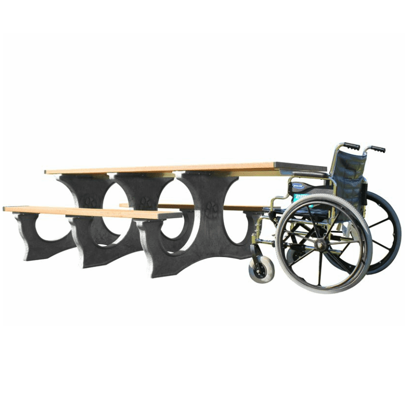 ADA Compliant Easy Access Picnic Table