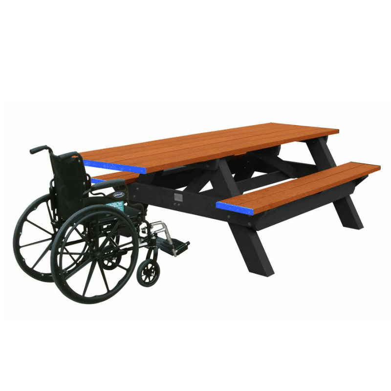 Ada Compliant Deluxe Picnic Table