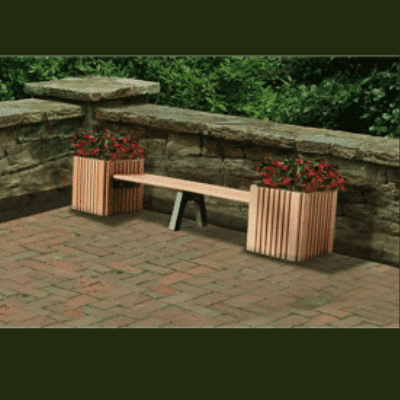 Planter Bench: Double 6′