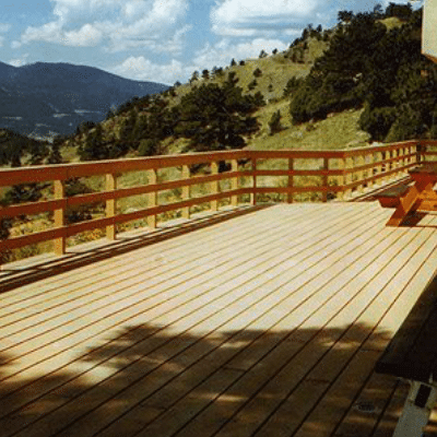 Mountainside Deck