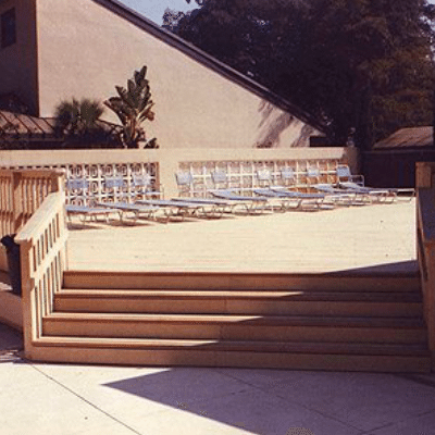 Public Poolside Deck