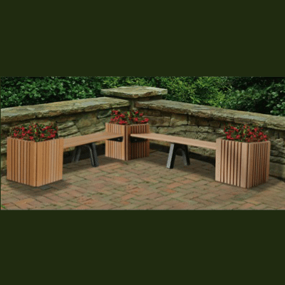 Planter Bench: Single 6′