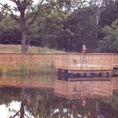 Wetlands Walkway With Observation Deck In Midland, MI