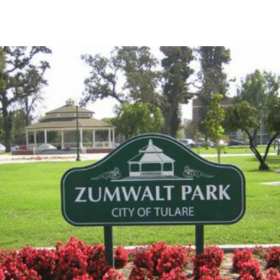 Zumwalt Park Sign