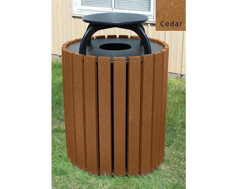 49 Gallon Round Receptacle With Cap