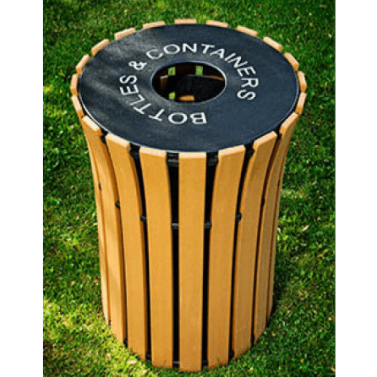 33 Gallon Receptacle Flare Top